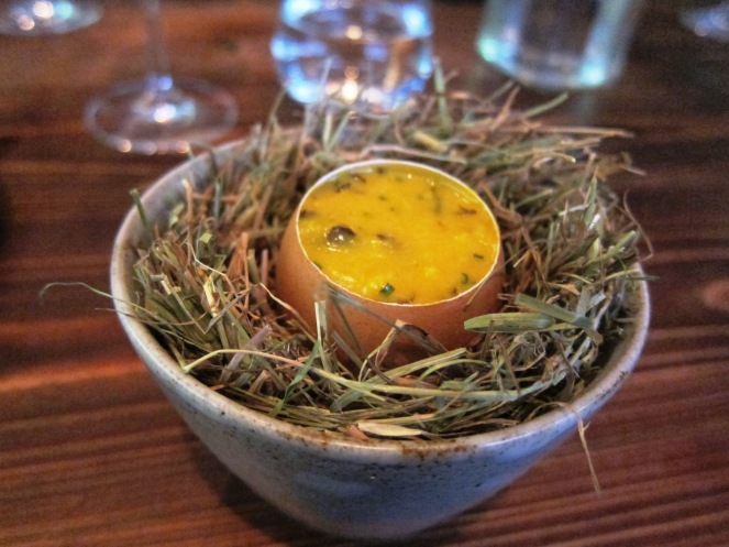 Coddled Egg @ Dabbous