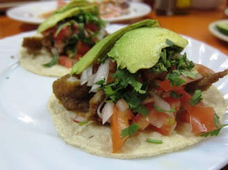 Fish Tacos @ La Bamba Jarocha