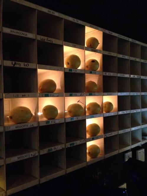 entry name shelves