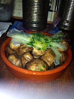 mushrooms with manchego