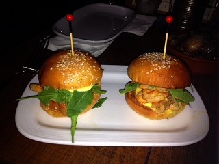 calamari sliders ($6 ea)