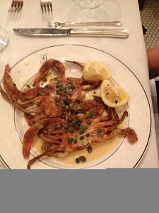 Galatoires soft shell crab