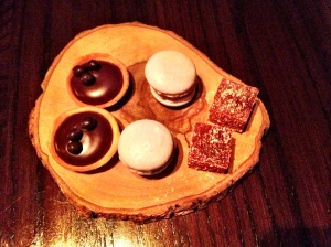 Petit Four at Veritas