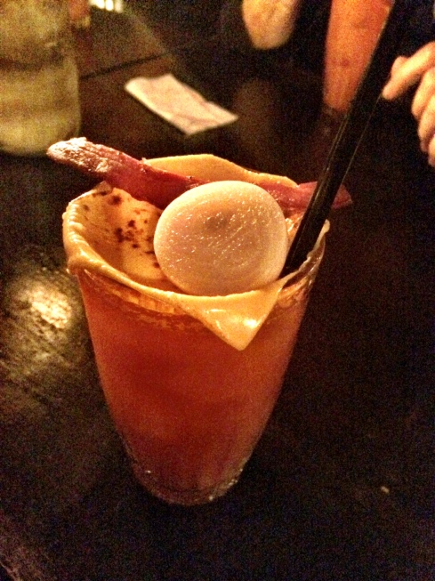 cheese and bacon bloody mary