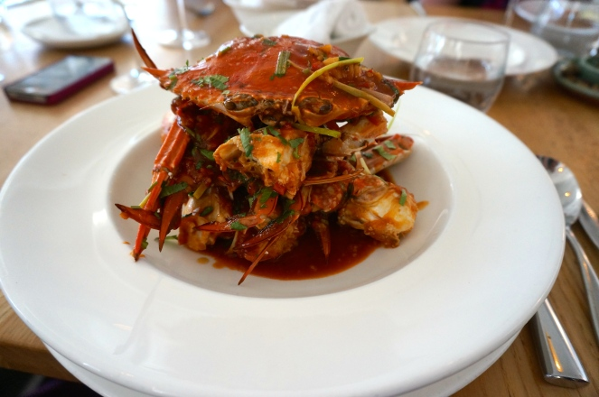 Singapore Chilli Blue Swimmer Crab