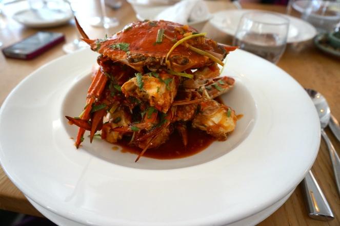 Singapore Chilli Blue Swimmer Crab